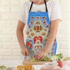 Stylish Printed Kitchen Apron-Assorted-NA6255
