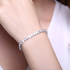 Stylish RIVIERA DIAMOND Hand Bracelet For Ladies-NA7127