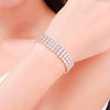 Stylish RIVIERA DIAMOND Hand Bracelet For Ladies-NA7130