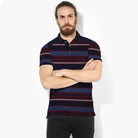 Boston Crew Polo Shirt For Men-Stripe-BE2019