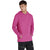 F&F Pullover Fleece Hoodie For Men-Pink-BE3712