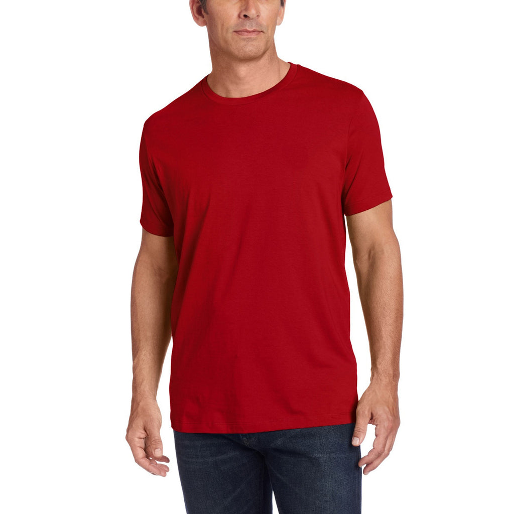 "Men's ""Cross Hatch"" Half Sleeve Shirts - BE381"