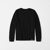 brandsego - The Edge Long Sleeve Thermal Under Tee Shirt For Boys-Black-NA7693