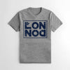 The Square Mile Premium Single Jersey Tee Shirt For Men-Grey-NA9625