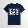The Square Mile Premium Single Jersey Tee Shirt For Men-Navy Blue-NA9623