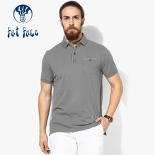 Fat Face Polo For Men Cut Label-Light Gray-BE2308