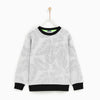 Tommy Hilfiger Crew Neck Single Jersey Sweatshirt For Kids-All Over Printed-NA7741