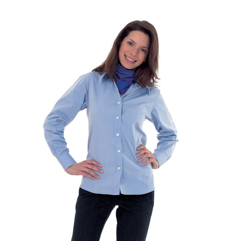 Uneek Full Sleeve Casual Shirt For Women-Lavender-BE953