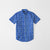 brandsego - US Polo Assn Premium Casual Shirt For Boys-Blue & Allover Printed-NA8718