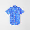 brandsego - US Polo Assn Premium Casual Shirt For Boys-Blue Printed-NA8720