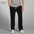 Next Regular Fit Fleece Trouser For Men-Black-NA16