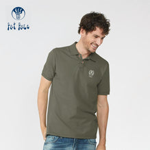 Fat Face Polo For Men Cut Label-Light Olive-BE2538
