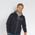 F&F Full Zipper Fleece Hoodie For Men-Dark Navy-BE3451