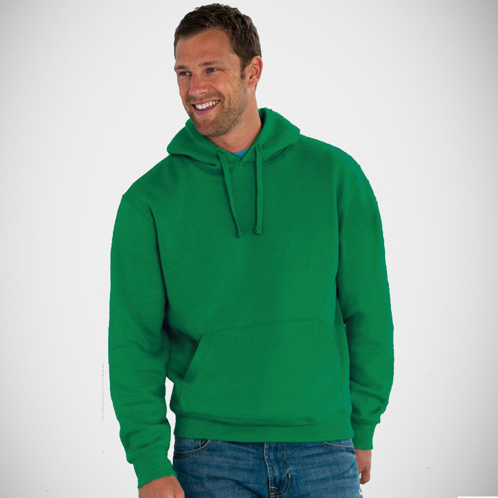 "Men's ""SOL'S"" Pull Over Plane Fashion Hoodie-Green (581)"
