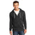 F&F Fleece Zipper Hoodie For Man-Charcoal-NA6348