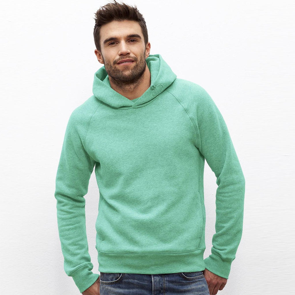"Men's ""Stanely Stella"" Pull Over Sea Green Fashion Hoodie-586"