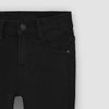 brandsego - Vintage Express Power Stretch Biker Denim For Kids-(S03)-Light Black-NA9672