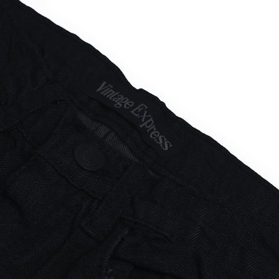 brandsego - Vintage Express Power Stretch Biker Denim For Kids-(S07)-Dark Navy Melange-NA9673