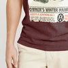 Volkswagen Crew Neck Single Jersey Tee Shirt For Men-Burgundy Melange-NA8571