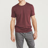 Volkswagen Crew Neck Single Jersey Tee Shirt For Men-Light Burgundy-NA8570
