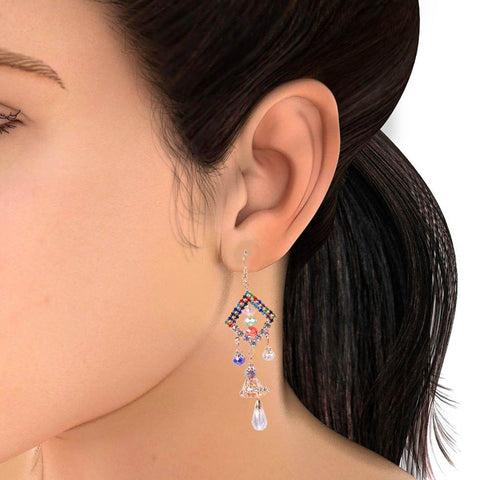 "Ladies ""Stylish Italian Earring""-BE411"
