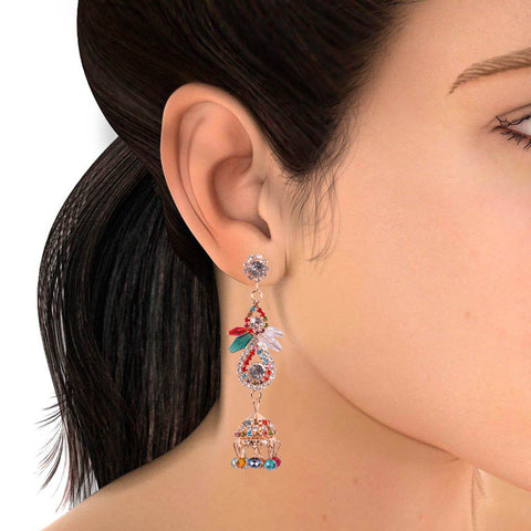 "Ladies ""Stylish Italian Earring""-BE423"