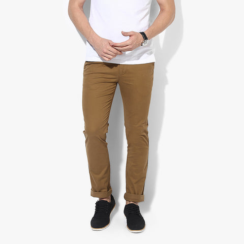 "Men's ""DIESEL"" Slim Fit Strech Denim Khaki-ND35"