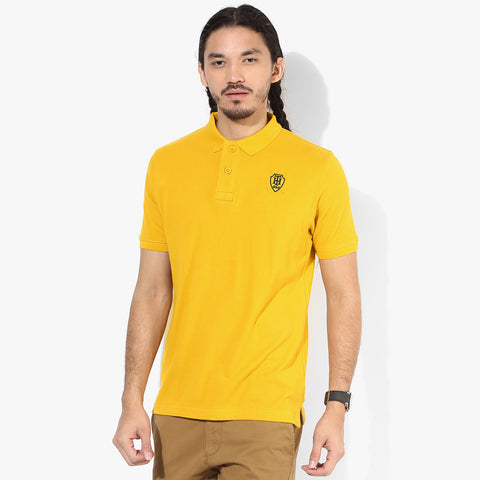 Fat Face Polo For Men Cut Label-Yellow-BE2326