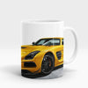 Yellow Mercedes Benz AMG Printed Mug-NA5717