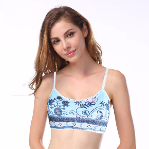 Yoga Bra For Ladies-All Over Printed-NA5508