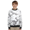 Tommy Hilfiger Terry Fleece Crew Neck Sweatshirt For Kids-Allover Print-SP793