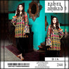 Zahra Ahmad Lawn Collection 2 Piece Un-stitch Suit For Ladies-NA8910