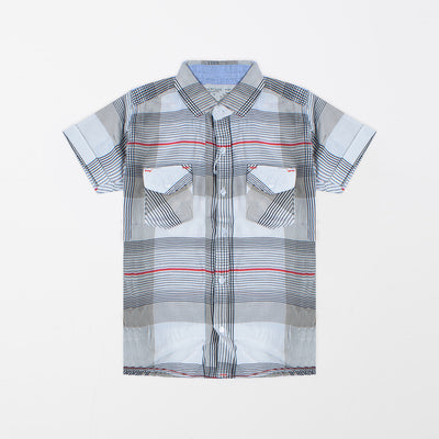 brandsego - Zara Man Premium Slim Fit Casual Shirt For Boys-All Over Chek-NA9651