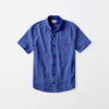 Zara Man Premium Slim Fit Casual Shirt For Boys-Blue-NA9632