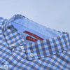 Zara Man Premium Slim Fit Casual Shirt For Men-Blue & Grey Chek-NA10226
