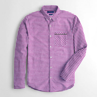 brandsego - Zara Man Premium Slim Fit Casual Shirt For Men-Light Pink-NA8996