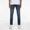 Zara Man Premium Slim Fit Denim For Men-Dark Blue Faded-NA8767