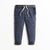 Zara Man 3 Quarter Single Jersey Short For Men-Dark Navy & White Lining-NA6336