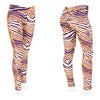 Zubaz Zebra Print Slim Fit Trousers For Ladies-NA9248