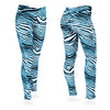 Zubaz Zebra Print Slim Fit Trousers For Ladies-NA9249