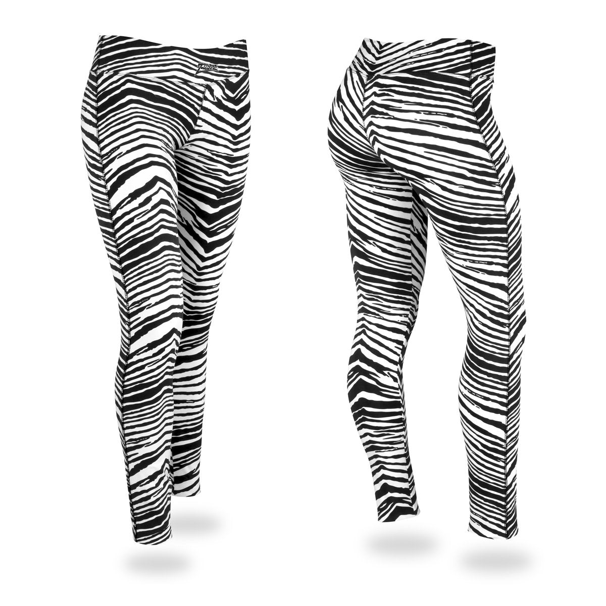 Zubaz Zebra Print Slim Fit Trousers For Ladies-NA9252