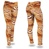 Zubaz Zebra Print Slim Fit Trousers For Ladies-NA9253