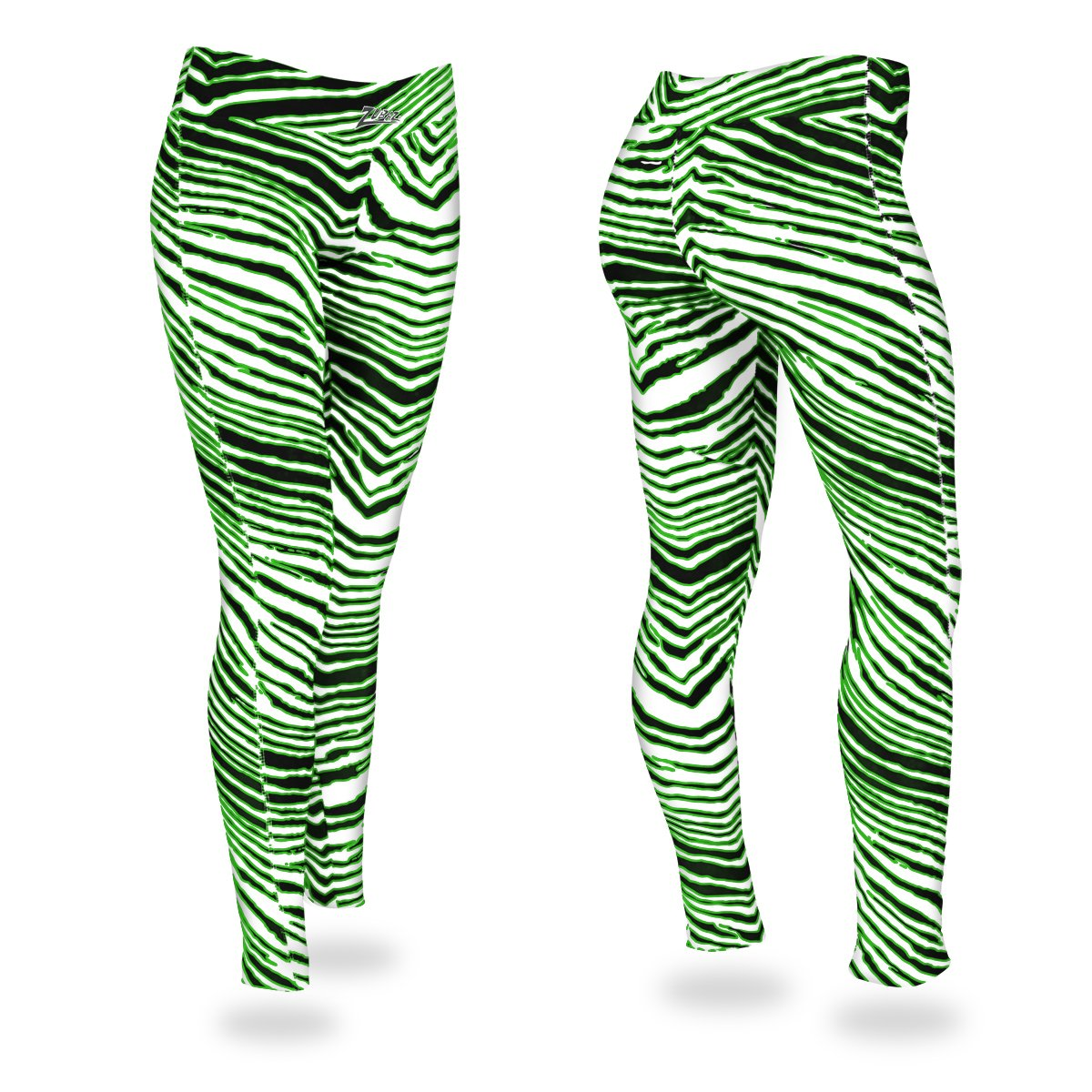 Zubaz Zebra Print Slim Fit Trousers For Ladies-NA9254