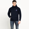 A&F Fleece 1/4 Zipper Hoodie For Men-Dark Navy-BE6588
