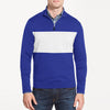 A&F Fleece 1/4 Zipper Mock Neck Jacket For Men-Blue & White-BE7129