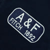 brandsego - A&F Fleece Crew Neck Sweatshirt For Men-Dark Navy-BE7494