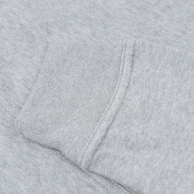A&F Fleece Crew Neck Sweatshirt For Men-Grey Melange-BE7122