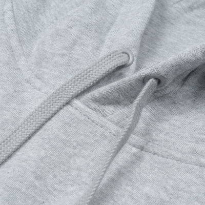 A&F Fleece Pullover Hoodie For Men-Grey Melange-BE6496