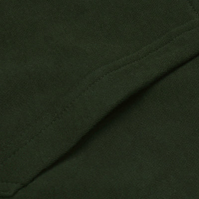 A&F Fleece Pullover Hoodie For Men-Olive-BE6641