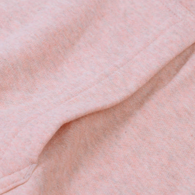 A&F Fleece Pullover Hoodie For Men-Pink Melange-BE6694